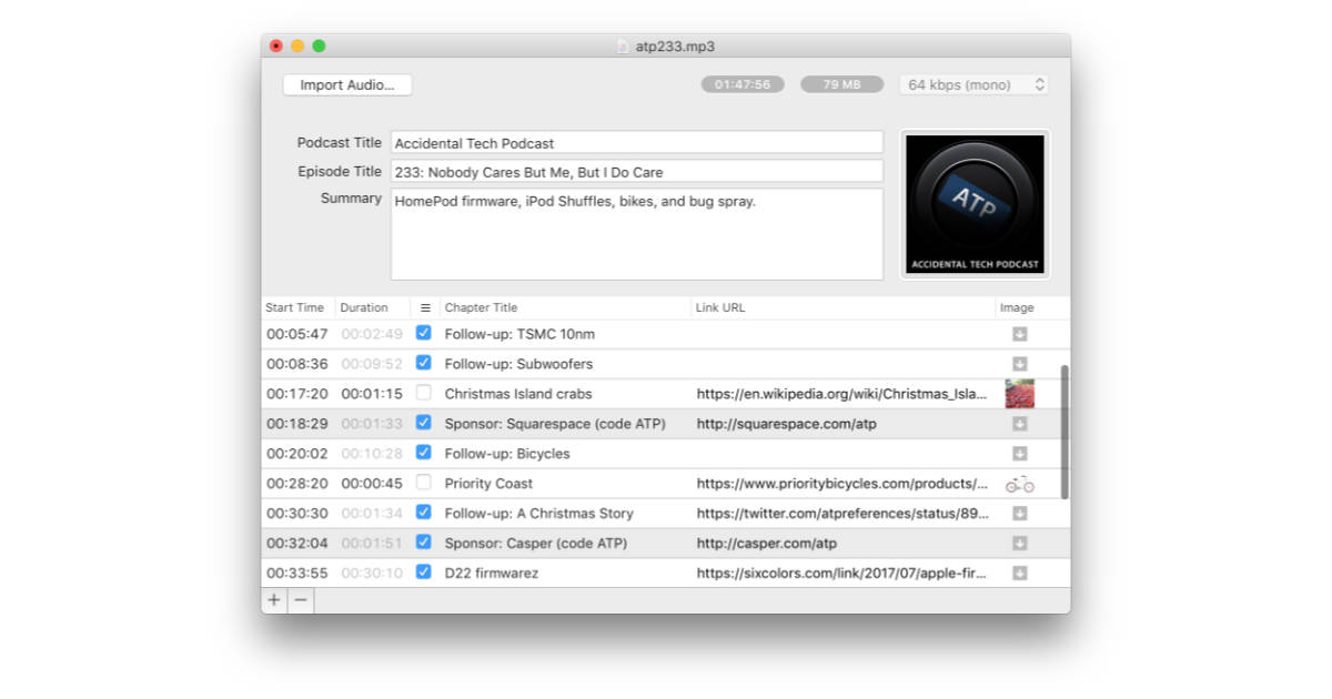 Marco Arment's Forecast is a Mac Podcast Encoding App Designed by and for Podcasters