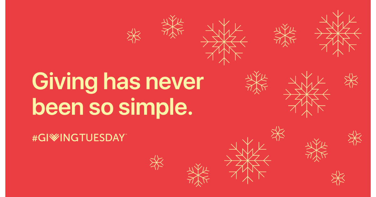 Apple's 2017 Giving Tuesday Apple Pay donation promotion