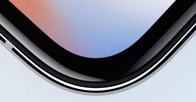 iPhone X edge.