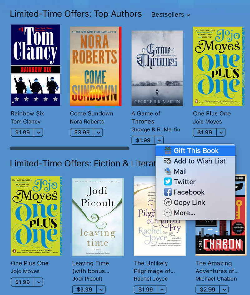 Gift This Book on iBooks