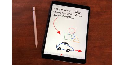 iPad Pro and Apple Pencil note taking app