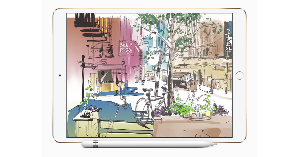 Apple Hosting iPad Urban Sketch Walks with Top Artists