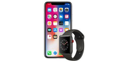 iPhone X and Apple Watch Series 3