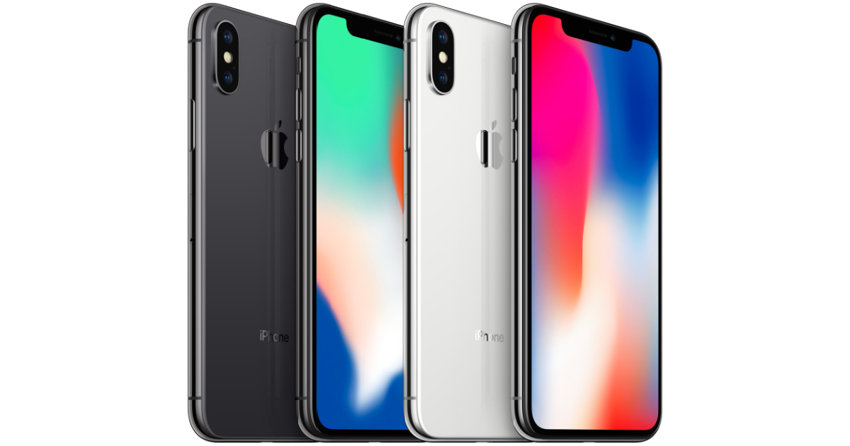 iPhone X line up