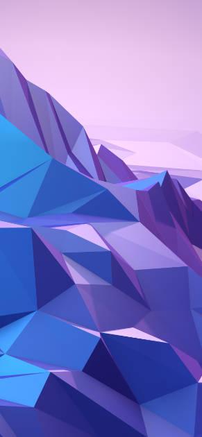 iPhone X geometric wallpaper from Design+Code