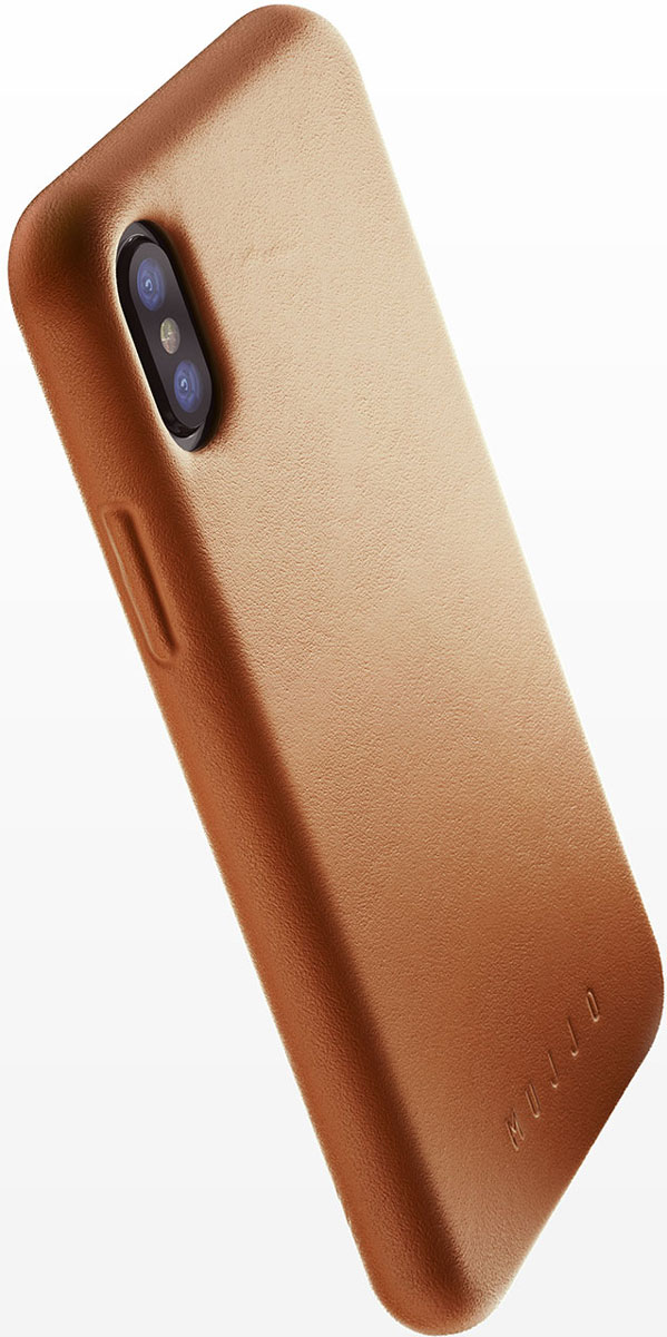 Mujjo Full Leather Case for iPhone X