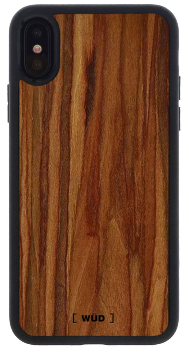 Rosewood Case for iPhone X