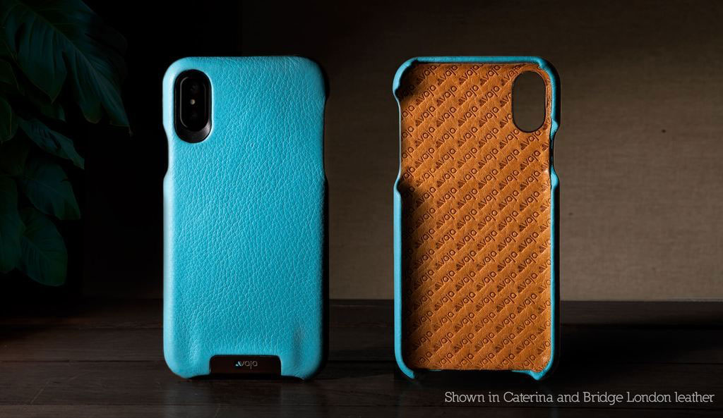 Vaja Custom Grip iPhone X Leather Case
