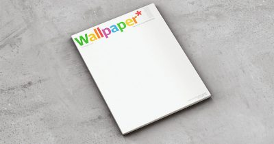 Wallpaper's December edition, designed by Jony Ive