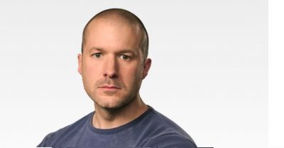 Apple's PR photo of Jony Ive.