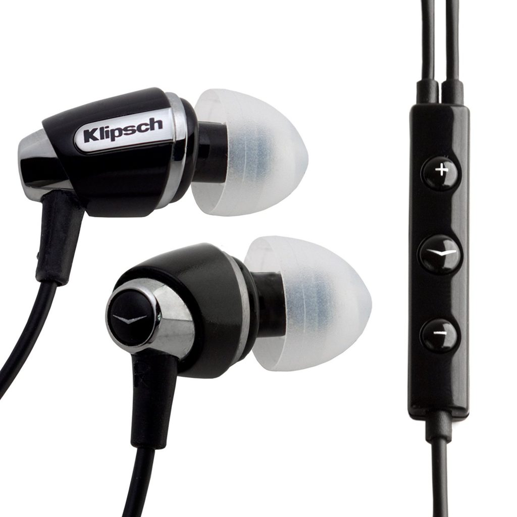 I love these now discontinued Klipsch S4i wired headphones, which are still available for just $39.