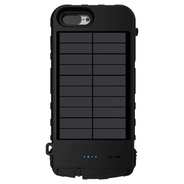 The SnowLizard SLXtreme's solar panel is on its backside...