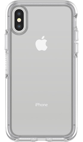 OtterBox Symmetry (Clear) for iPhone X