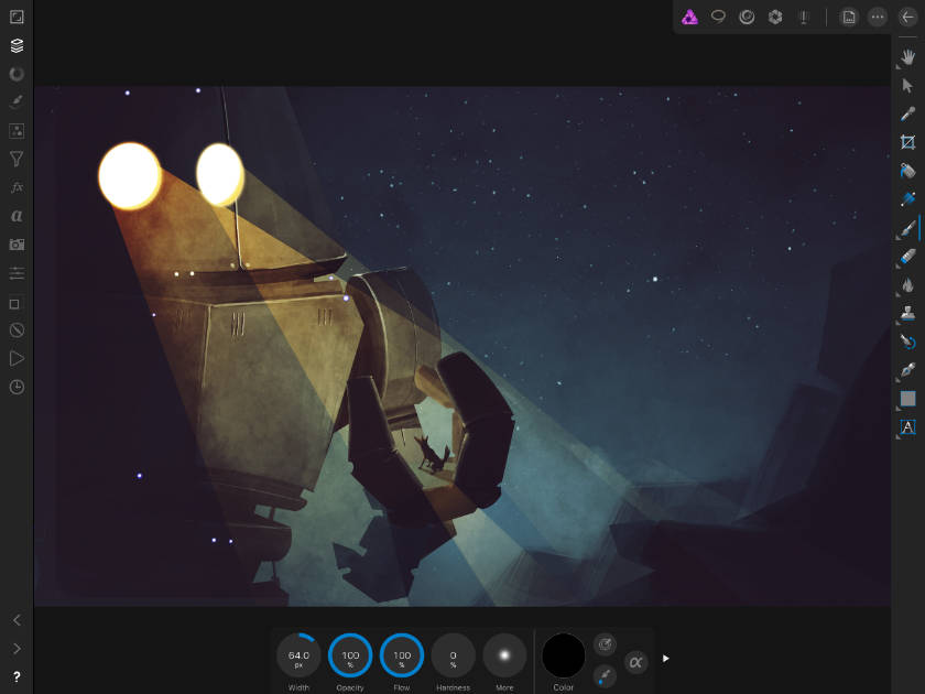 Affinity Photo on iPad