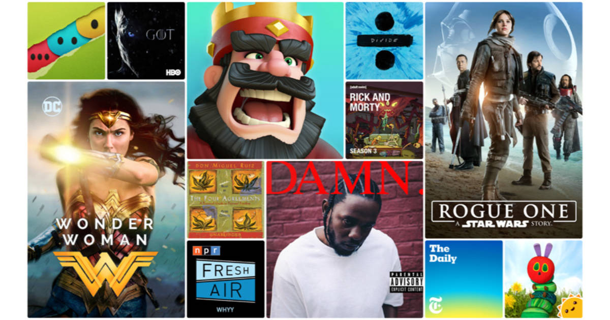Apple's top apps, movies, TV shows, books, and podcasts for 2017