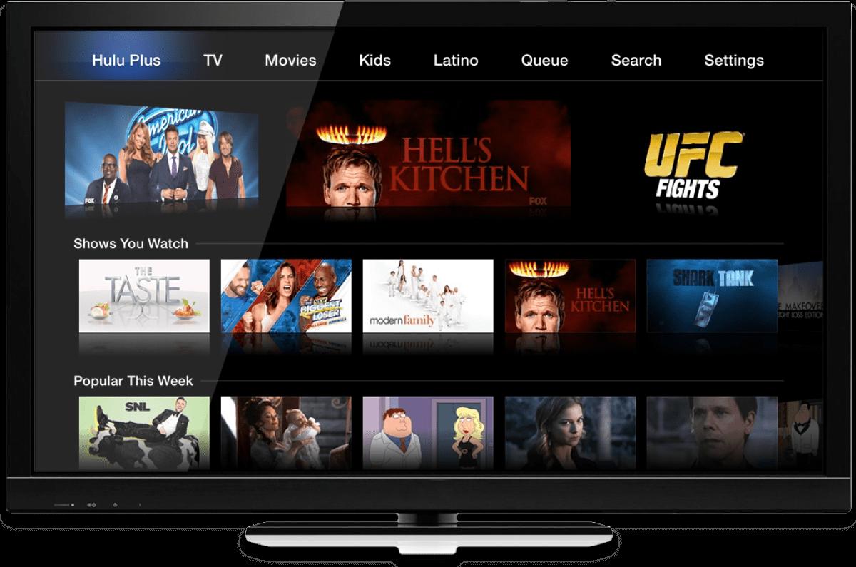 apple TV video streaming apps hulu
