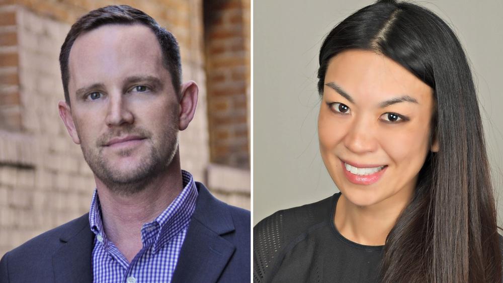 Philip Matthys and Jennifer Wang Grazier, Newly of Apple