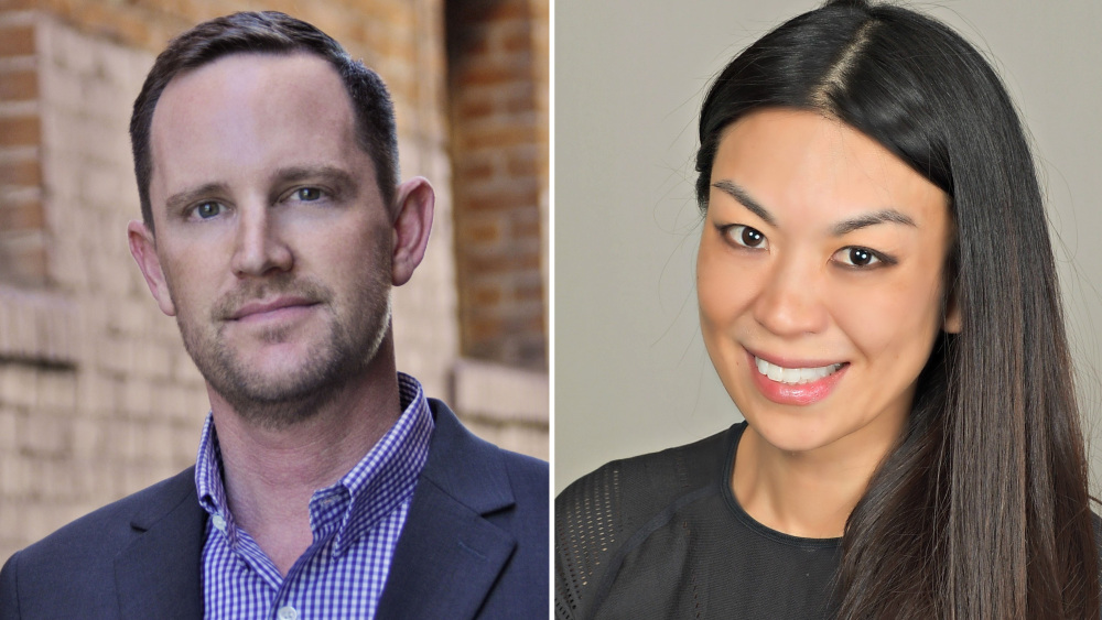 Philip Matthys and Jennifer Wang Grazier, Newly of Apple