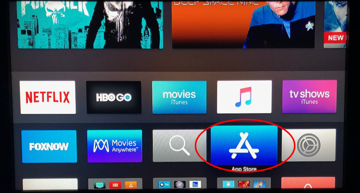 Use the App Store app on Apple TV to install Amazon Prime Video