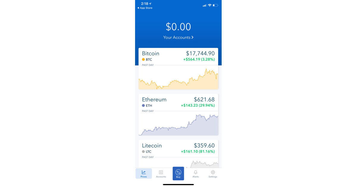 Coinbase Updates iOS App to Simplify Signup, Improved Identify Verification for iPhone X