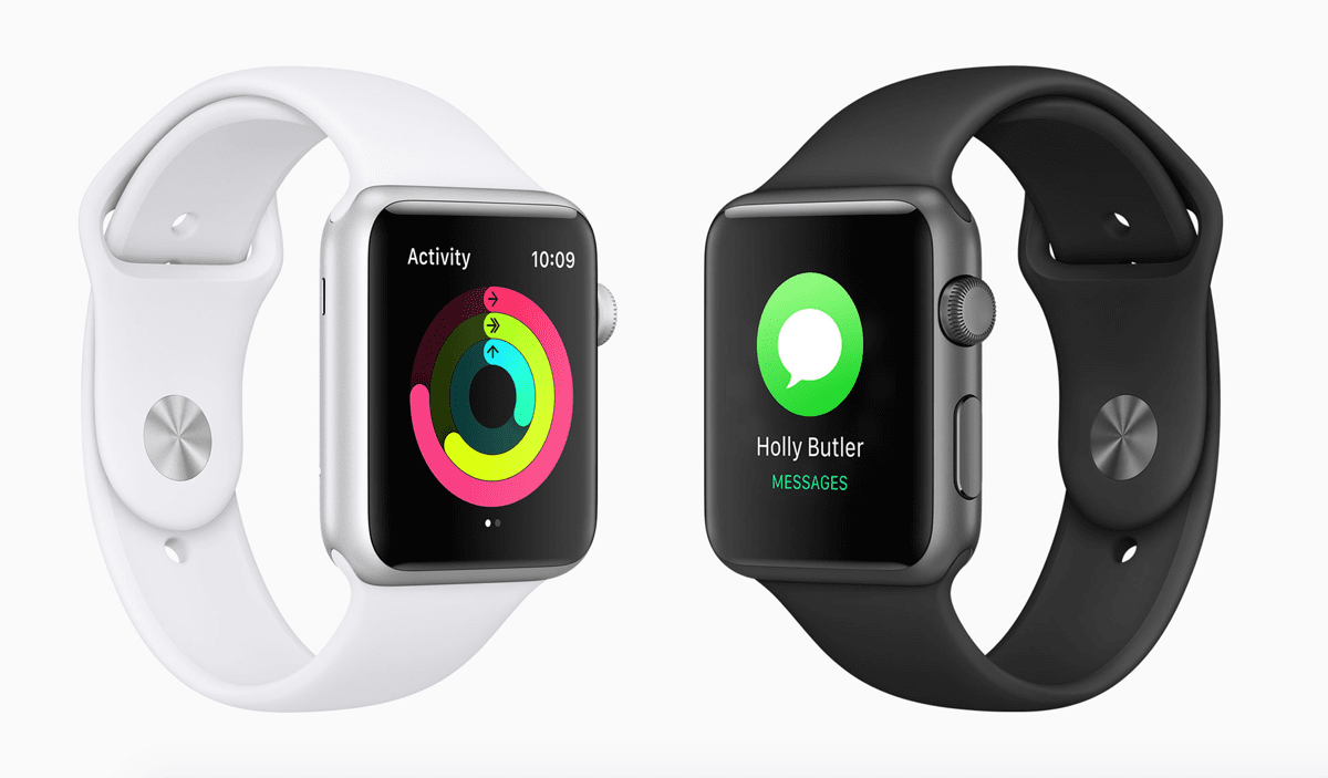 Image of Apple Watch Series 1, which launched after the original Apple Watch.