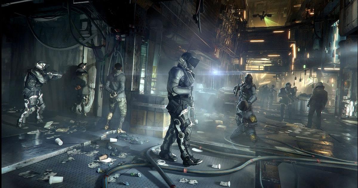 Screenshot for Deus Ex: Mankind Divided