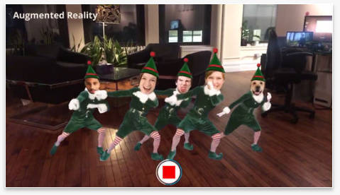 ElfYourself on iPhone
