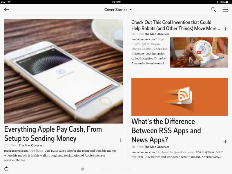Flipboard app for iPhone and iPad