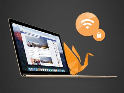 GOOSE VPN on a MacBook