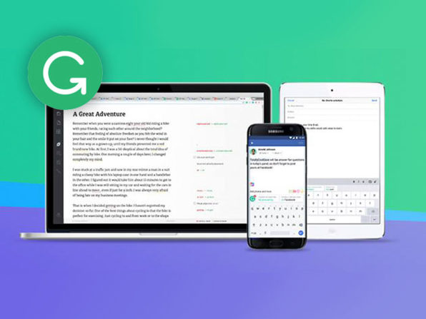 Grammarly Premium 1-Year Subscription: $69.98