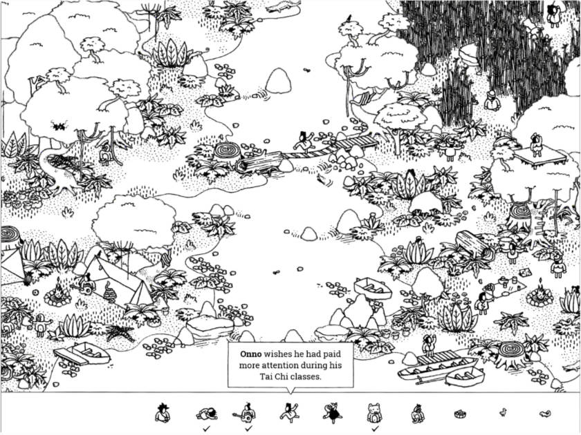 Hidden Folks on iPad