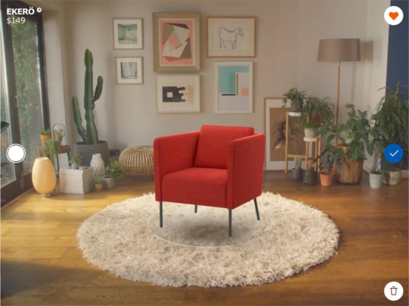 IKEA Places on iPad