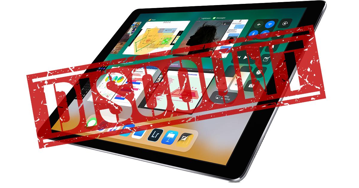 Lower cost iPad