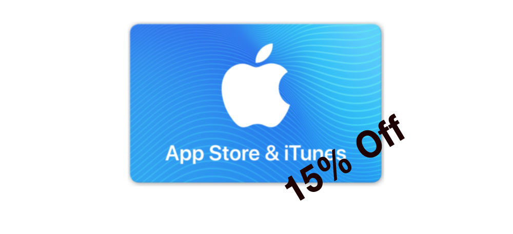 Ebay/PayPal Have $100 iTunes Cards for $85 – 15% Off
