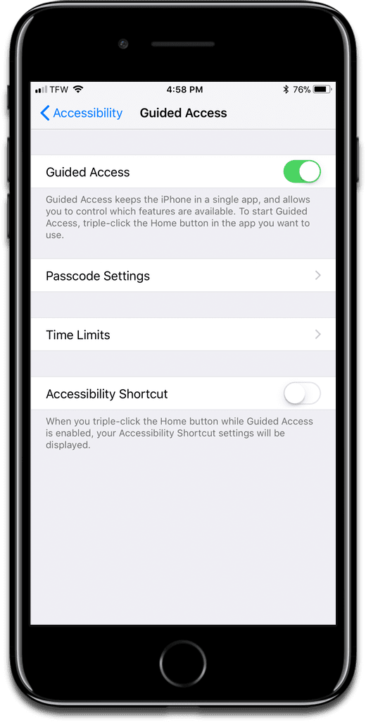iOS: Lock iPhone Apps to Keep People From Snooping - The Mac