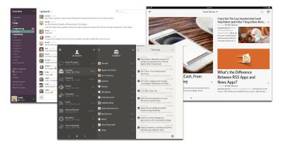 Mac, iPhone, and iPad news and RSS reader apps