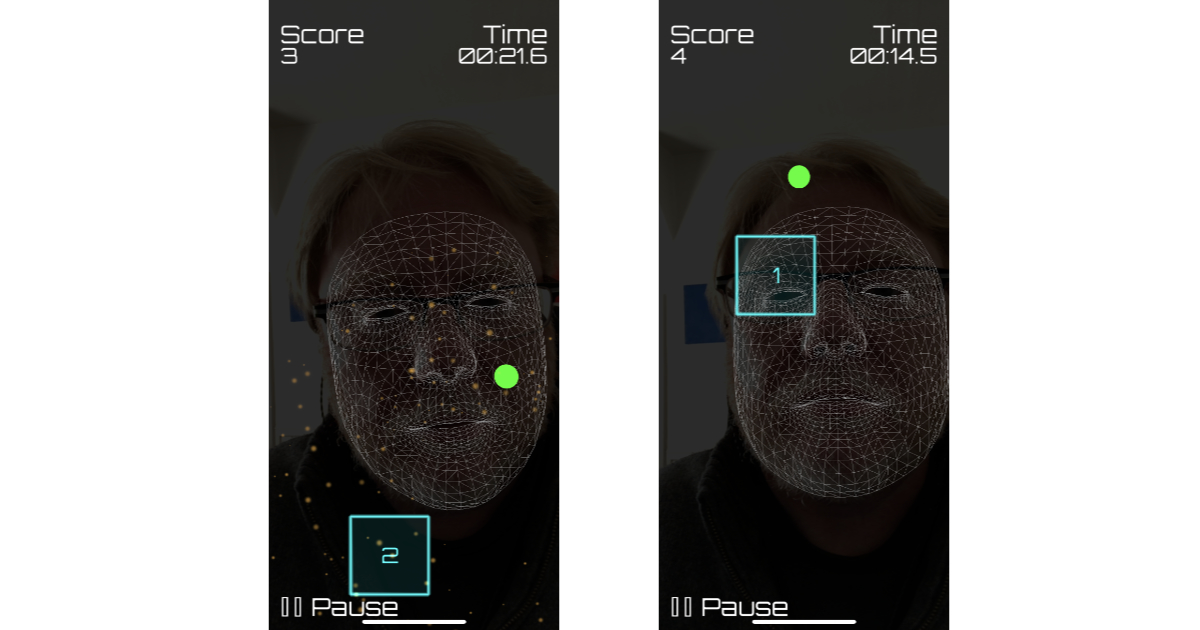 Nose Zone for iPhone X Turns Your Nose into a Laser Targeting System