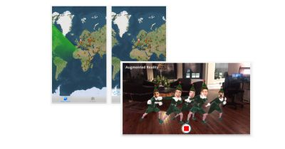 Santa and holiday iPhone apps