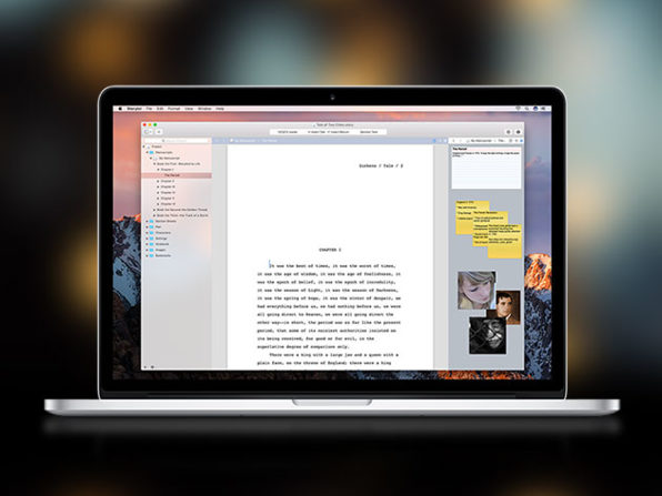 Storyist for Mac: $16.15