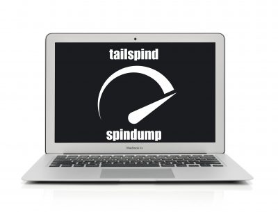 tailspind and spindump processes running full CPU on Mac
