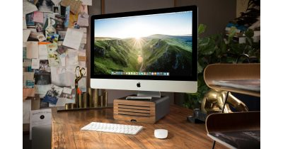 HiRise Pro iMac stand from TwelveSouth