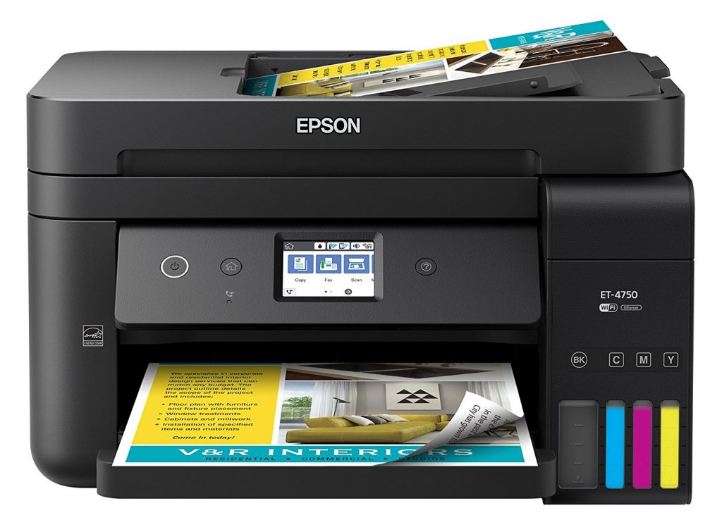 The WorkForce 4750 EcoTank all-in-one will save me hundreds of dollars on ink over the coming years.