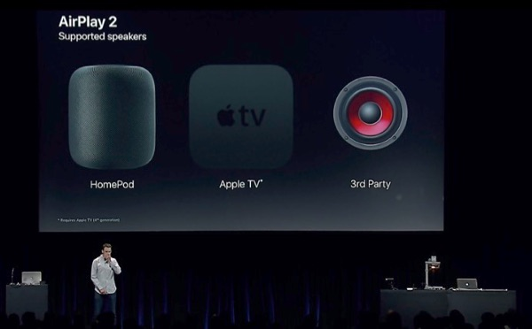 AirPlay 2 devices.