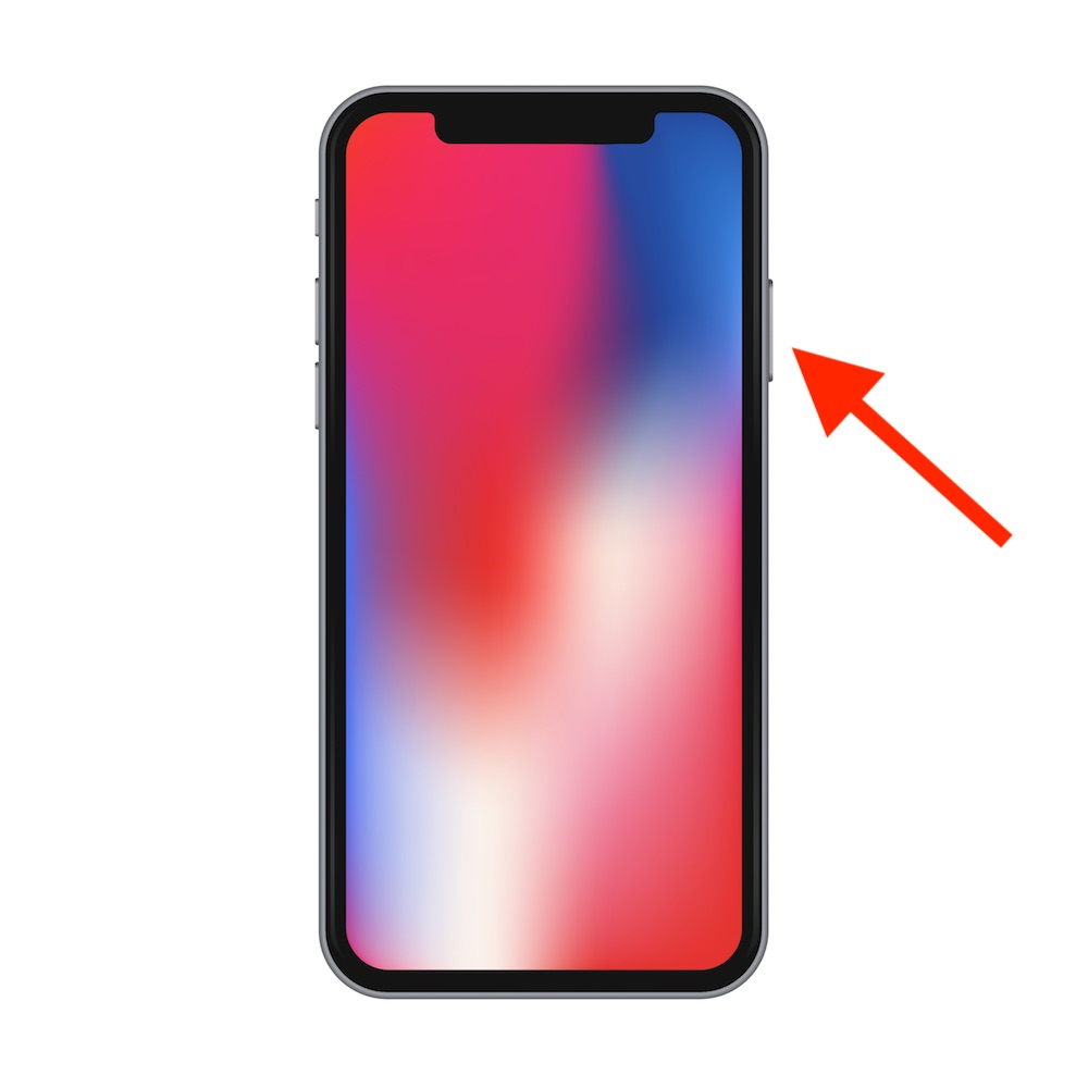 Side Button on iPhone X