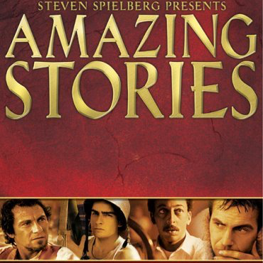 Apple TV Guide: Amazing Stories logo.