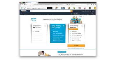 Amazon Prime monthly rate increases from $10.99 to $12.99