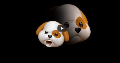 Screenshot from Apple's Animoji: Amigos