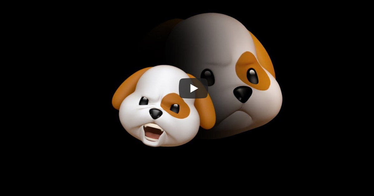 Screenshot from Apple's Animoji: Amigos