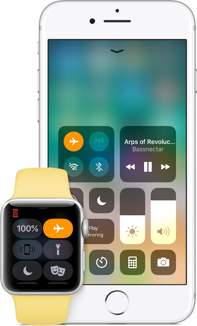 Activating Airplane Mode, which is a temporary measure for the Apple Watch reboot issue.