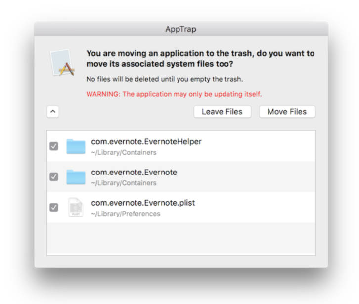 AppTrap for the Mac